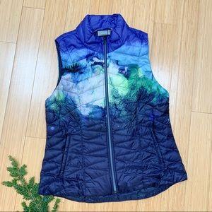 ATHLETA Altitude goose down zippered vest, XL.